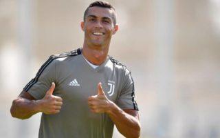 Cristiano Ronaldo Serie A Top Scorer